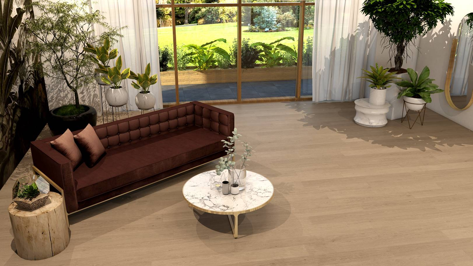 Sehati FSAP 8681 Nordic Light Oak Floor