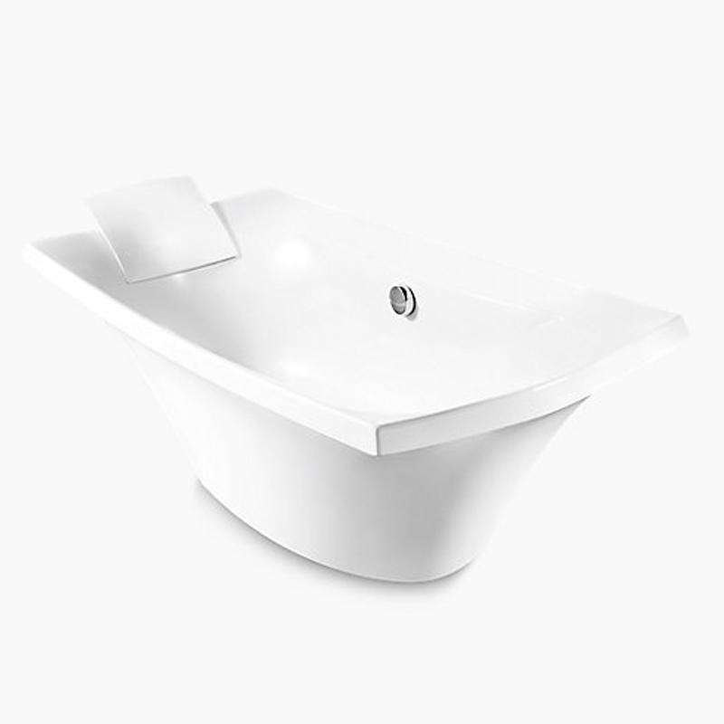 Escale Freestanding Bubble Massage Bath