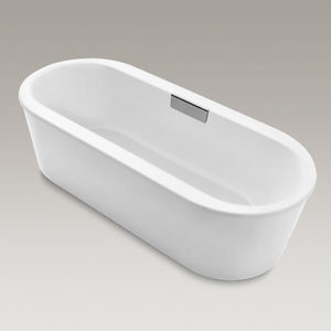 Volute Freestanding Cast Iron Bath