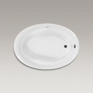 Serif Bubblemassage Acrylic Bath
