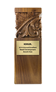 Annual Excellent Retail Development Award-Asia by Kohler.