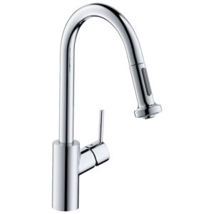 Talis S² Variarc Single lever kitchen mixer 220 with pull-out spray