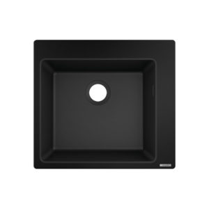 HG Built-in sink 450 (black)