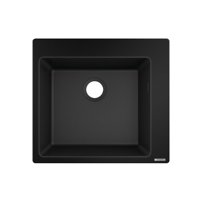hansgrohe Built-in Sink (Black) 450