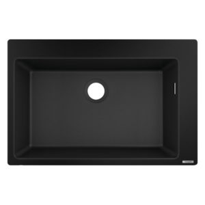 HG Built-in sink 660 (black)