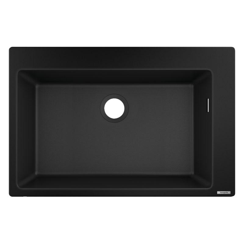 hansgrohe Built-in Sink (Black) 660