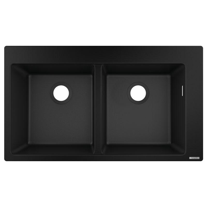 hansgrohe Built-in Sink (Black) 370