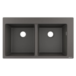 HG Built-in sink 370 (grey)