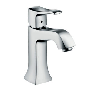 Metris Classic Single lever basin mixer 100 with pop-up waste set
