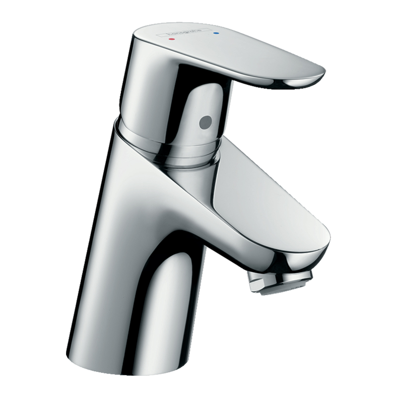 Focus Single lever basin mixer 70 with pop-up waste set