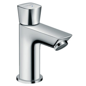 Logis Single lever baLogis Pillar tap 70 for cold water without waste setsin mixer 70 with pop-up waste set
