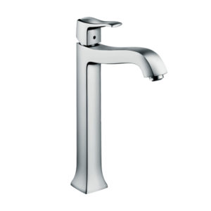 Metris Classic Single lever basin mixer 250 for washbowls with pop-up waste set