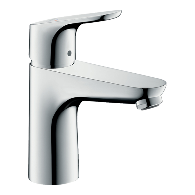 Focus Single lever basin mixer 100 Cool Start with pop-up waste set