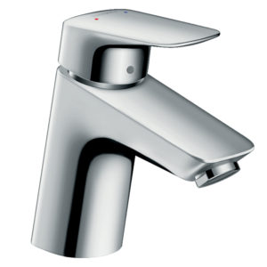Logis Single lever basin mixer 70 with pop-up waste set