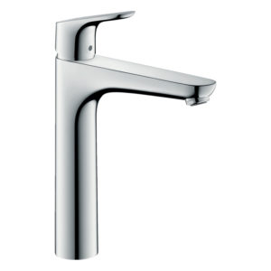Focus Single lever basin mixer 190 with pop-up waste set