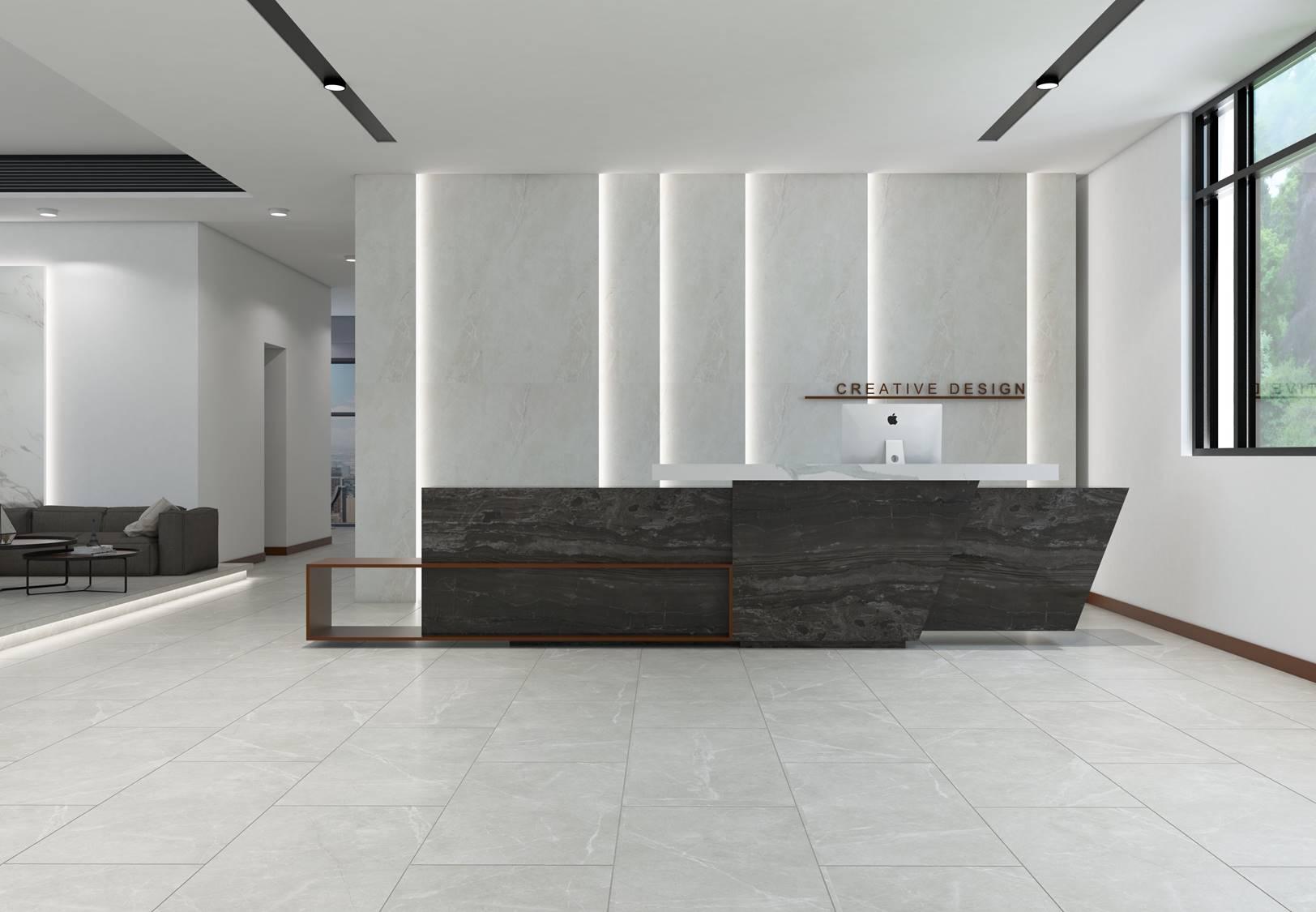 Allia Ice Stone Beige (floor) ambience