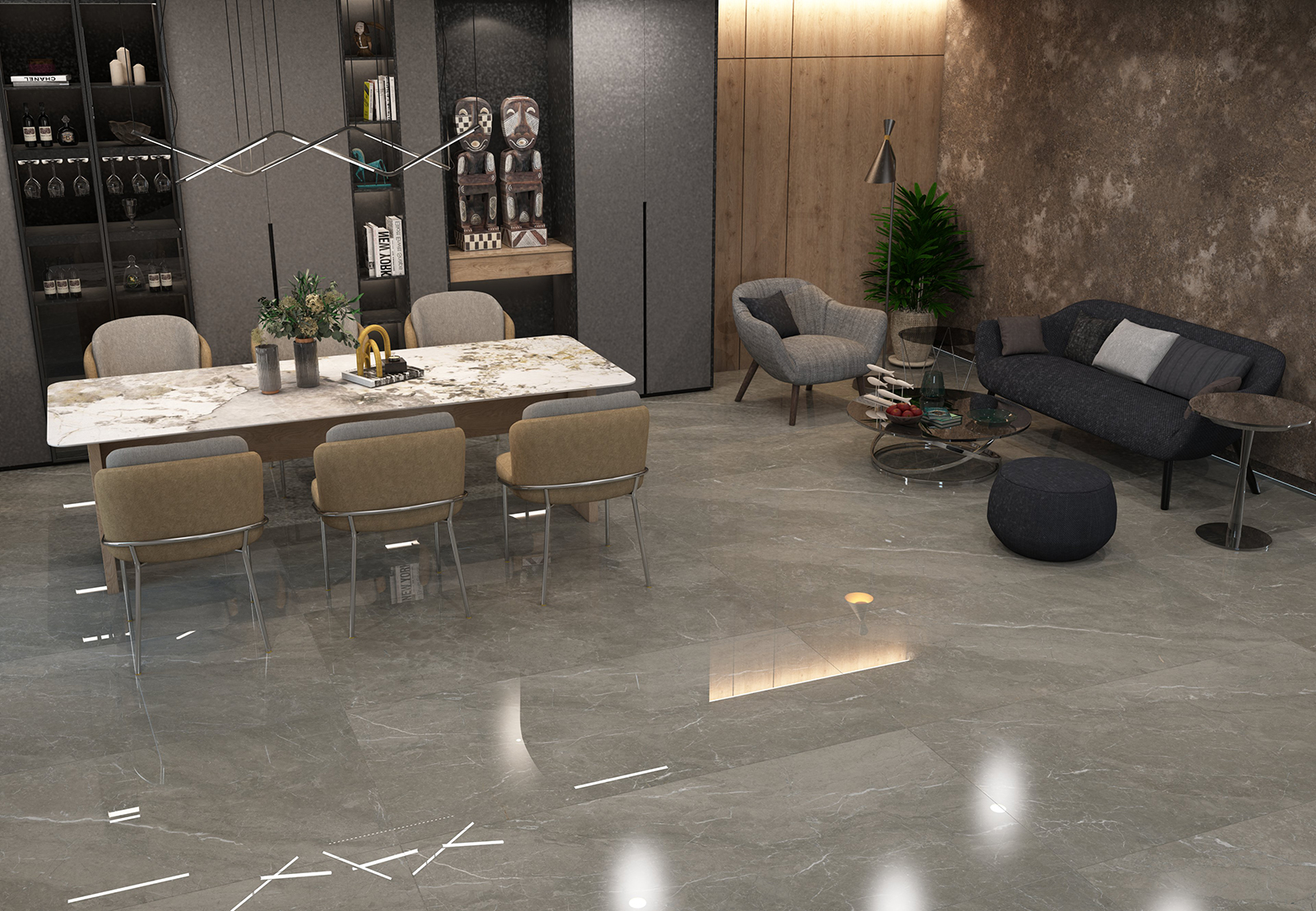 Allia Imperial Grey - Ambience Room 1