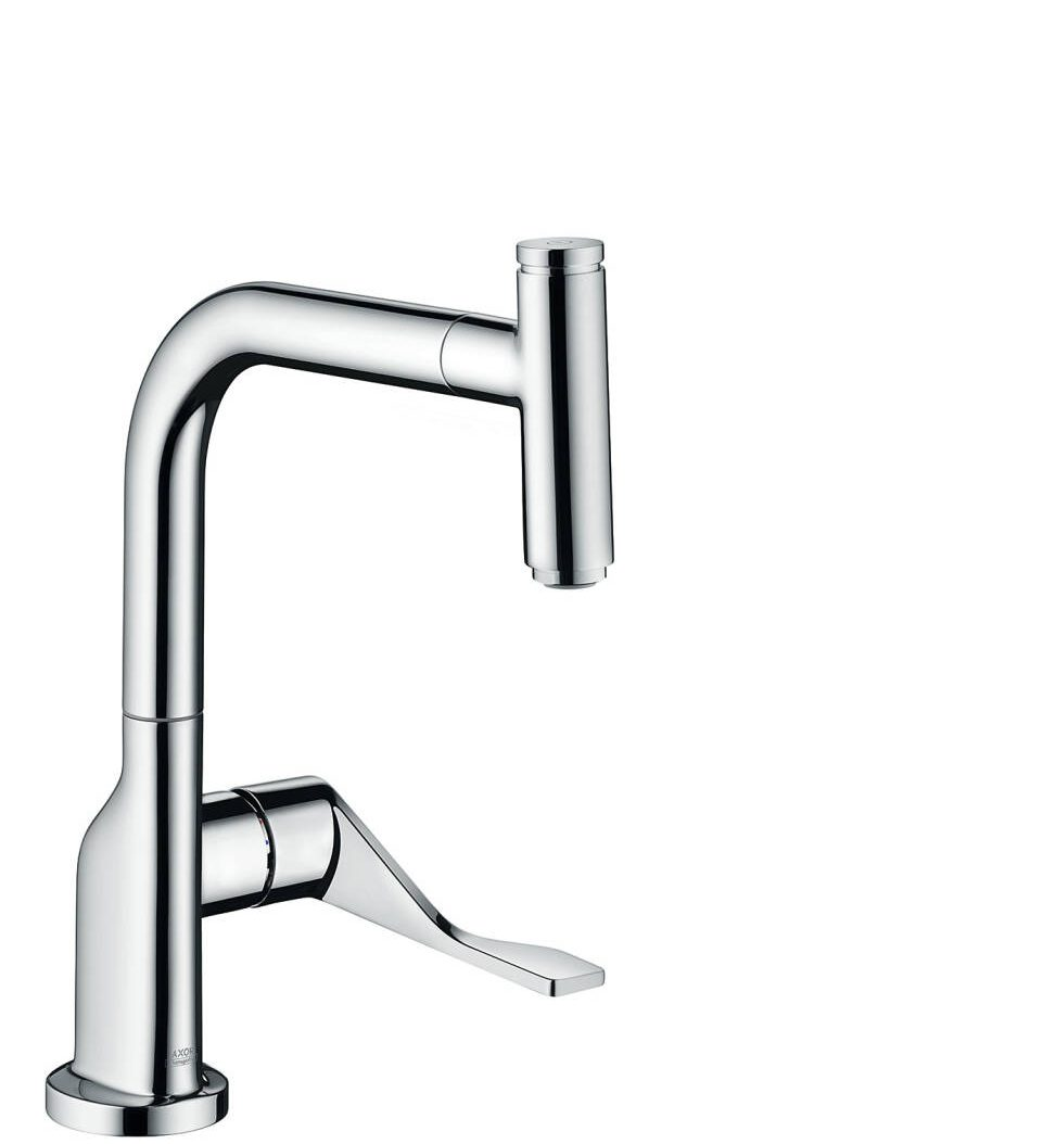 AXOR Citterio Single lever kitchen mixer Select 230 with pull-out spout