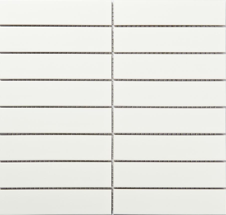 Allia Monoliving Stripe White Matt