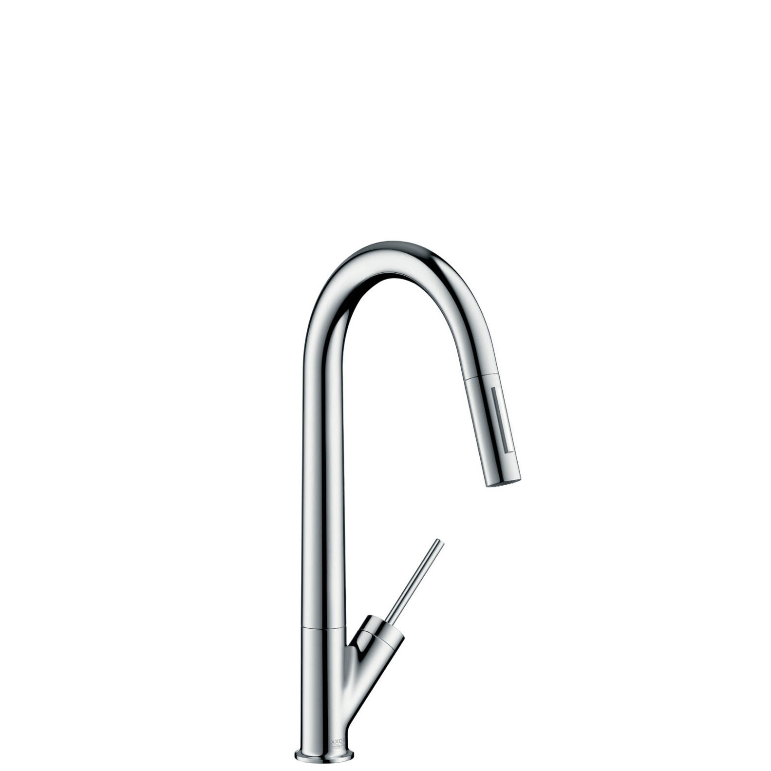 STARCK Single-lever Kitchen Mixer with Pull-out Spray
