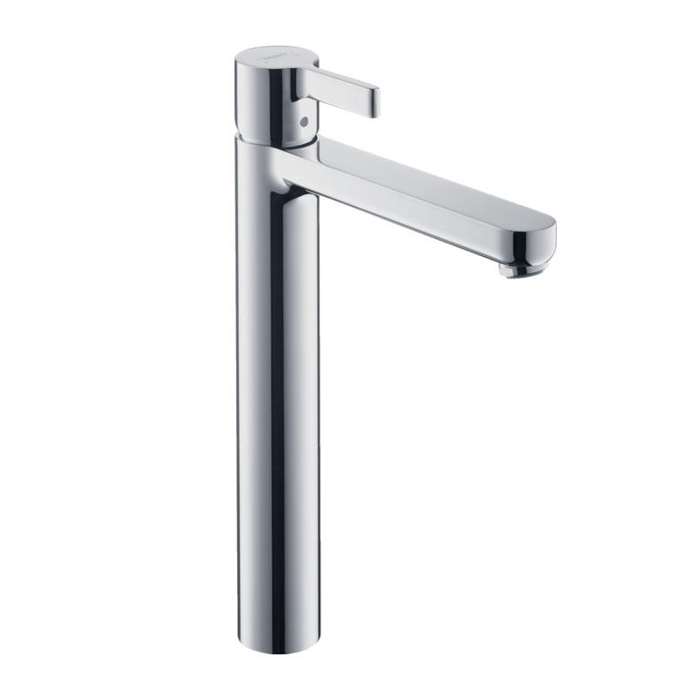 Hangrohe Metris S Single-lever Highriser Basin Mixer