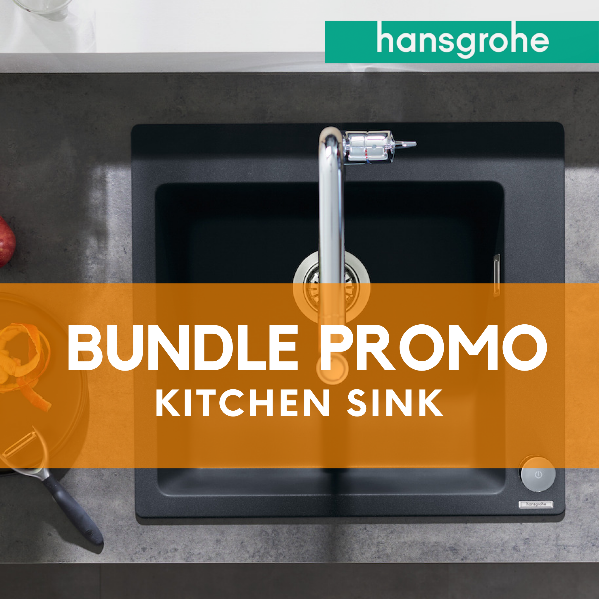 BUNDLE Promo hansgrohe Kitchen Sink