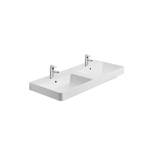 Kohler Forefront Dual-Basin Vanity Lavatory With Single Faucet Hole
