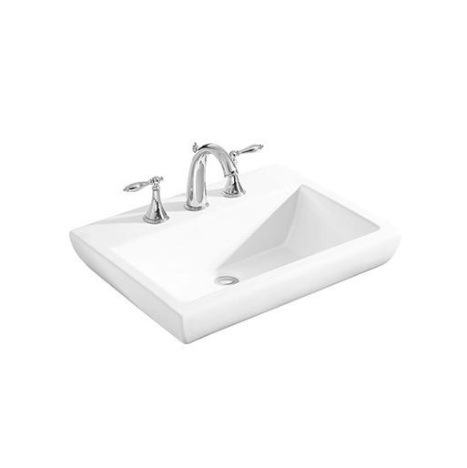 Kohler Parliament Vessel Lavatory With 8″ Widespread Faucet Holes