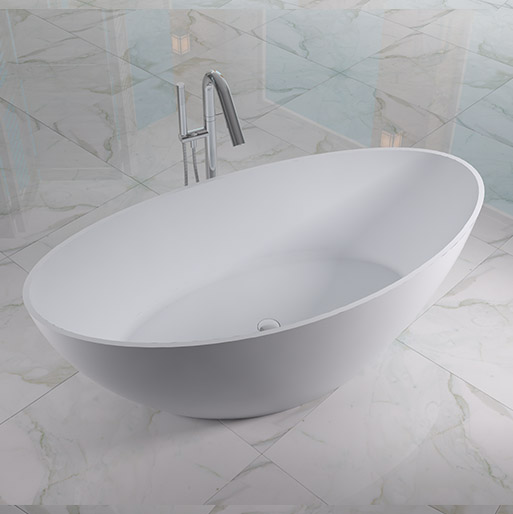 Cleo TP Freetown Oval Free Standing Bathtub