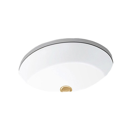 Kohler Verticyl Oval Under-counter Lavatory 19″