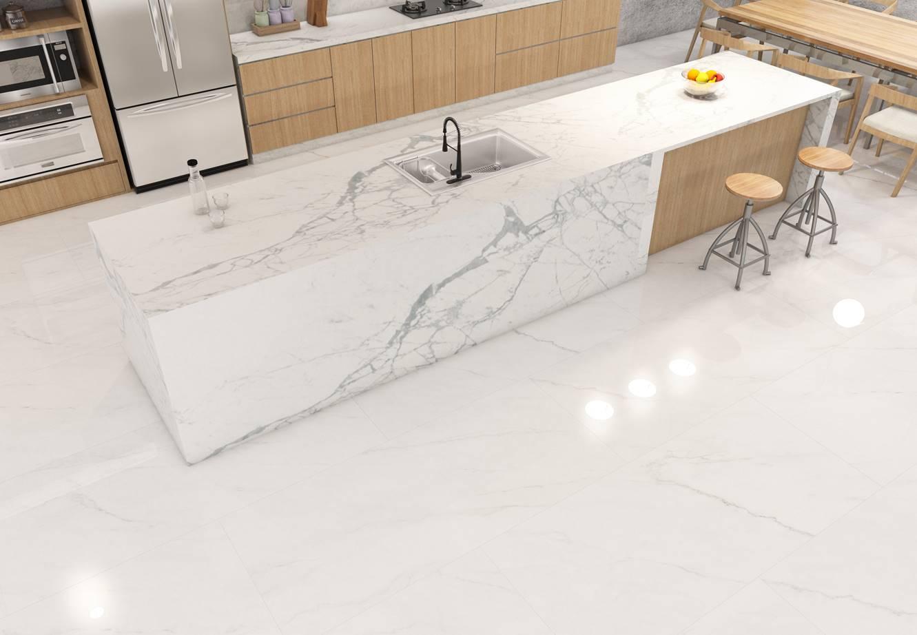 Sehati Frozen White 80x180 floor-