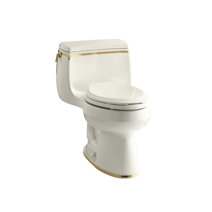 Kohler Prairie Flowers Design on Gabrielle 1PC Elongated Toilet