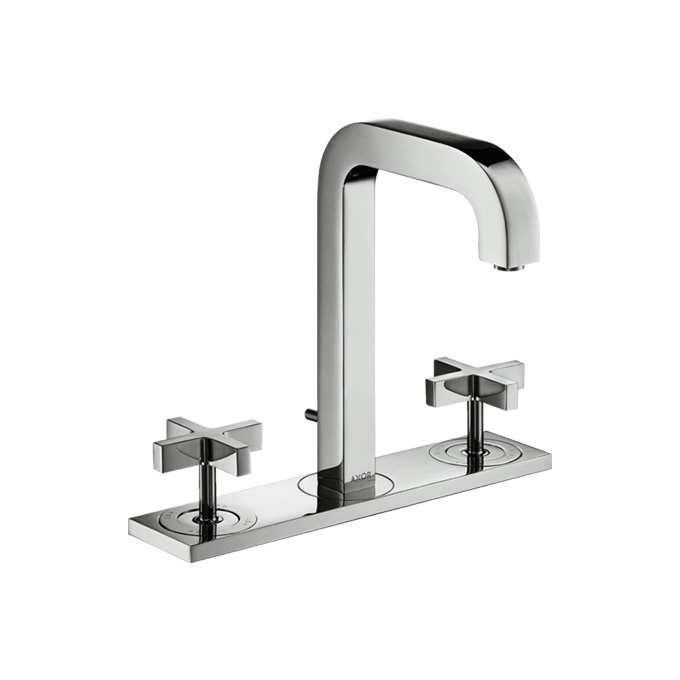 Axor Citterio 3-hole Basin Mixer 170 With Spout 140mm With Plate