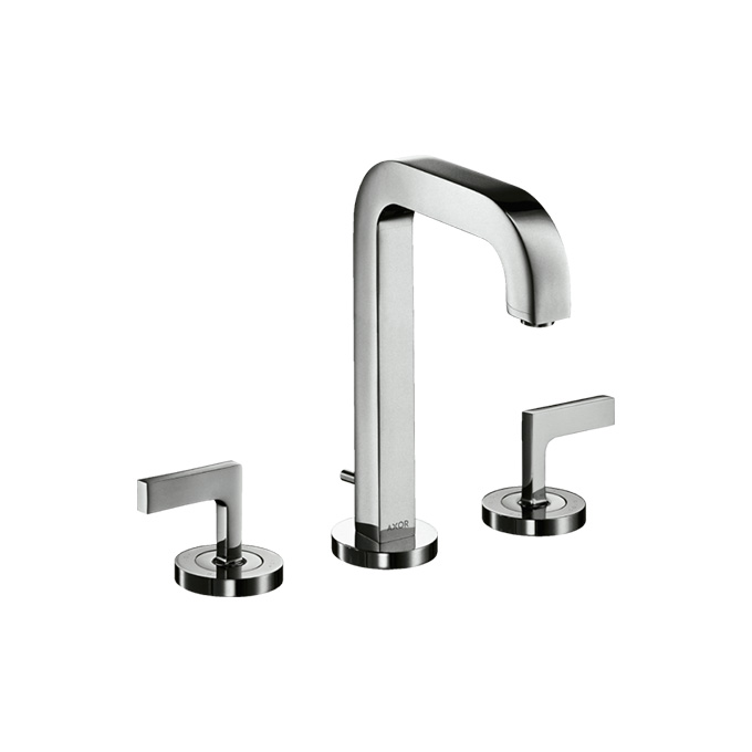 Axor Citterio 3-hole Basin Mixer 170 with spout 140mm Lever Handles