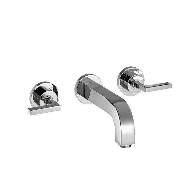 Axor Citterio 3-hole Basin Mixer With Spout 222mm