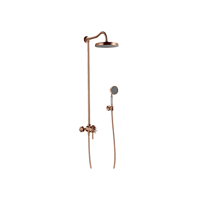 Axor Montreux Showerpipe With Thermostat And Overhead Shower 1jet
