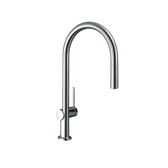 Hansgrohe Talis M54 Single Lever Kitchen Mixer 210 – Chrome