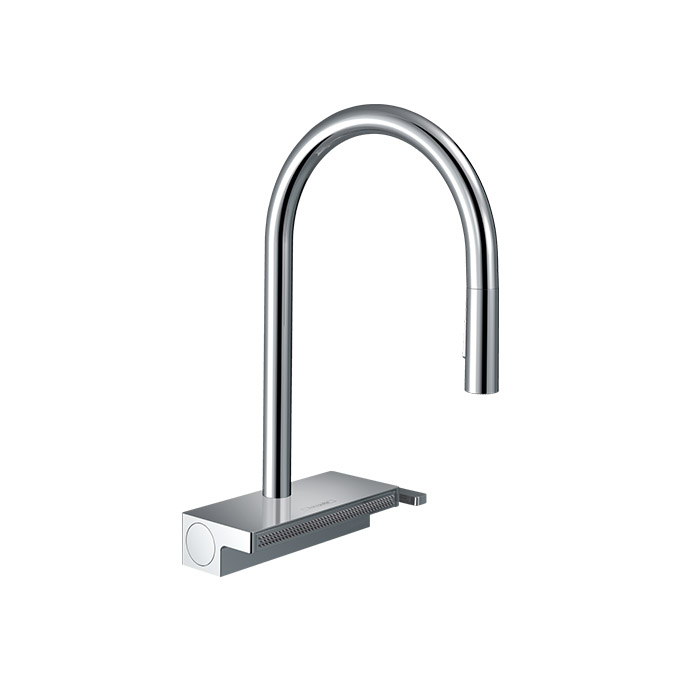 hansgrohe Aquno Select M81 Single Lever Kitchen Mixer 170 Pull-out Spray