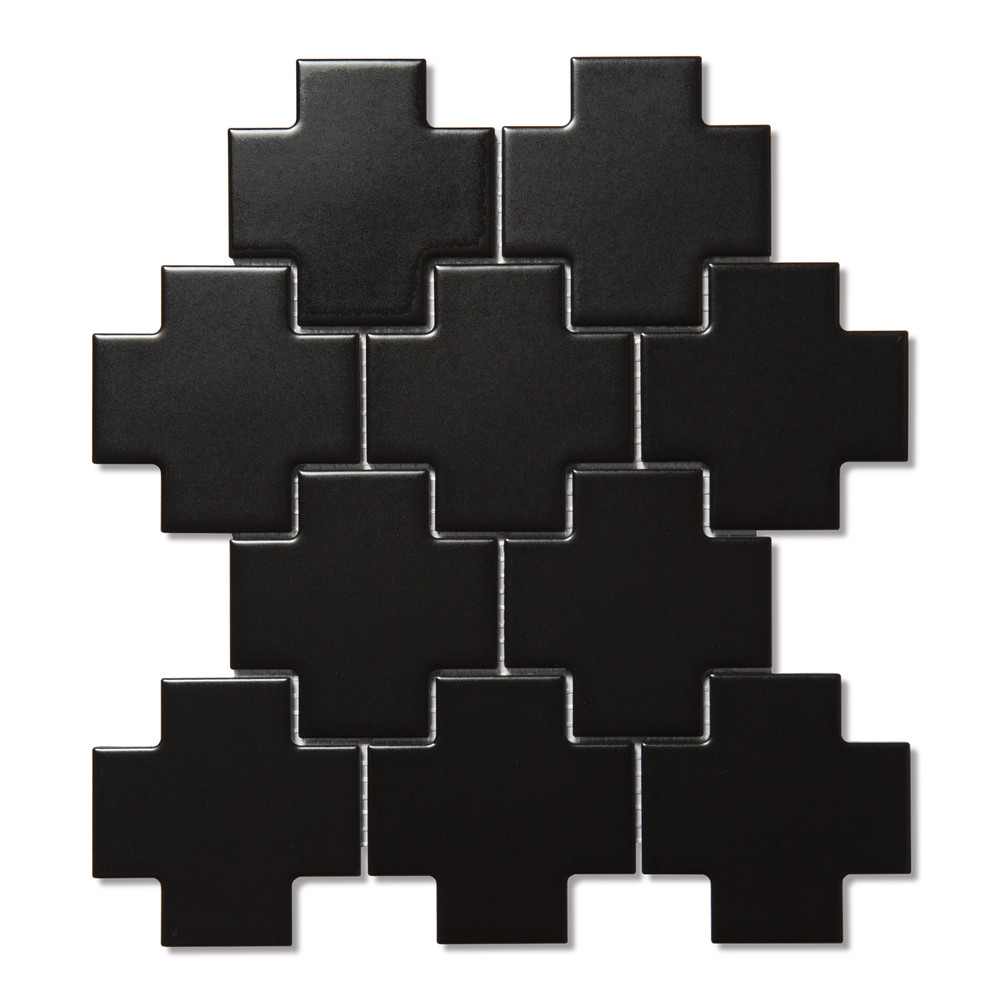 Allia Cross Pattern Black