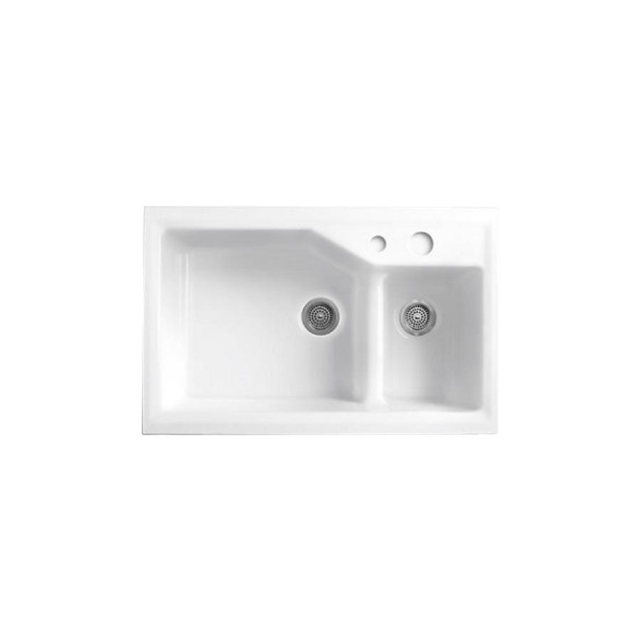 Kohler Indio Undercounter / Self Riming Sink