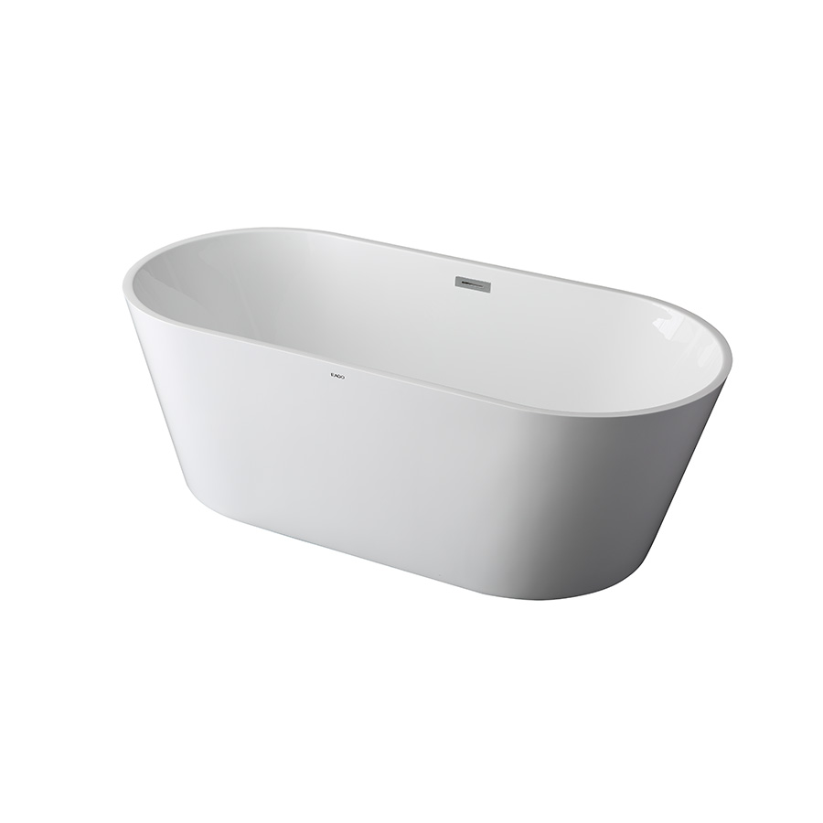 Freestanding Bathtub With Drain Cleo Latvia