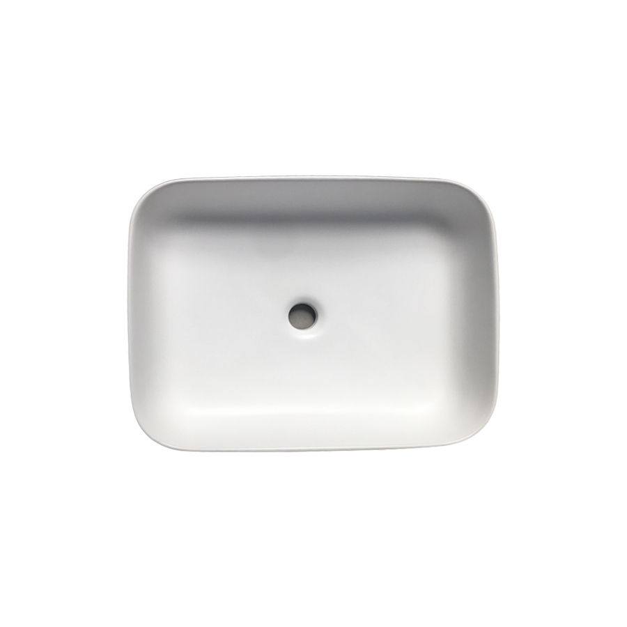Cleo HC Granby Above Counter Lavatory – Matt White