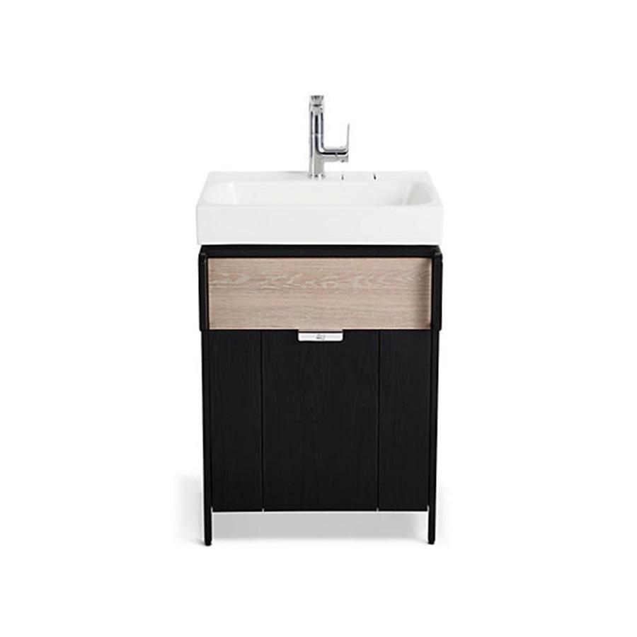 Kohler Rivlet Cabinet With Drawer 600mm (Chrome)