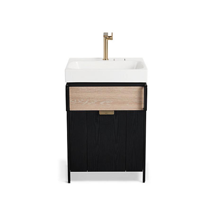 Kohler Rivlet Cabinet With Drawer 600mm (bronze)